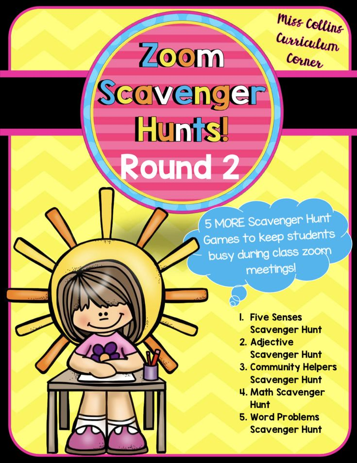 Distance Learning Scavenger Hunts in 2020 Distance