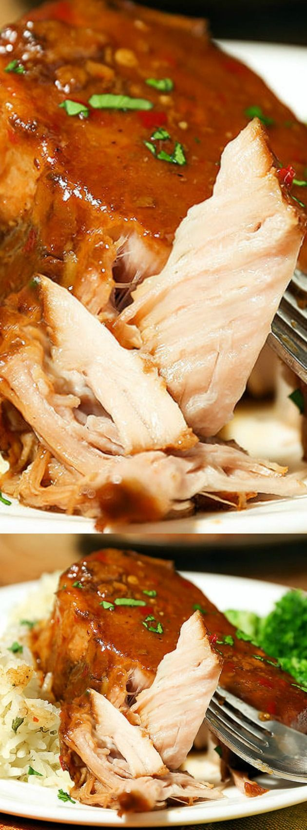 how to cook pork roast low and slow