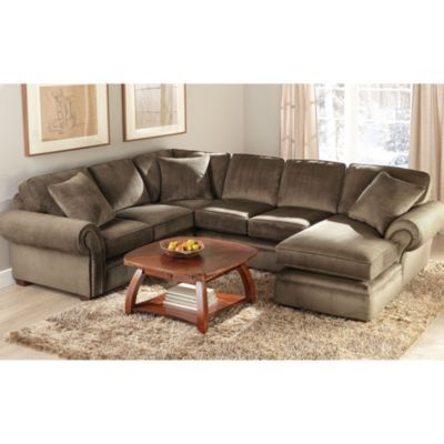 wholeHome®/MD Canada 'Belleville IV' 3-Piece Sectional In A Right-Hand Facing Layout - Sears | Sears Canada