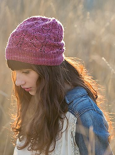 Ravelry: Project Gallery for Phyllotaxis Hat pattern by Marie Godsey