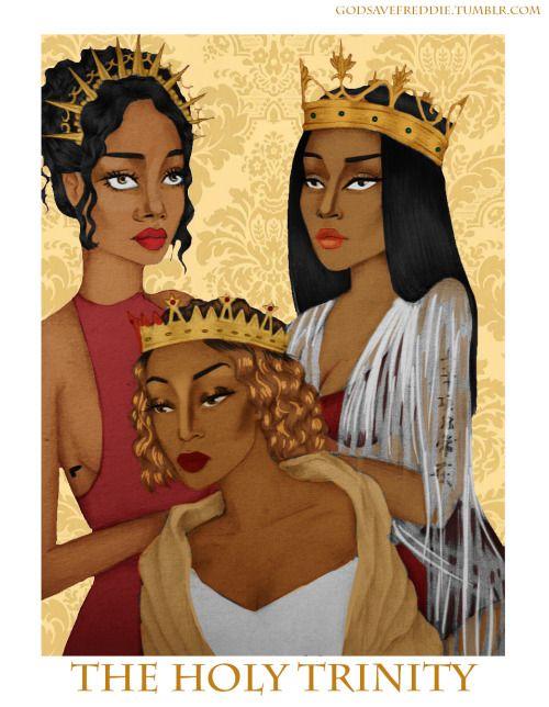 Beyoncé  Nicki Minaj & Rihanna - The Holy Trinity
