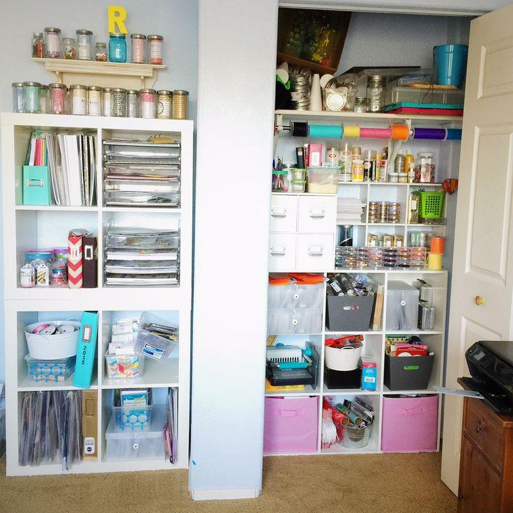 My Studio - Closet and Shelves - Scrapbook.com