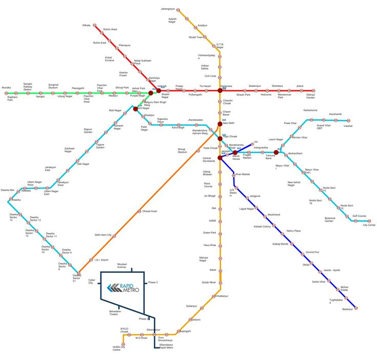 Delhi metro map image route wallpaper download pdf Red Green Violet Blue yellow line huda city center gurgaon badarpur Dilshad Garden Rithala veshali noida interlok mundka dwarka yahuma nearest station list rules time penalty in hindi