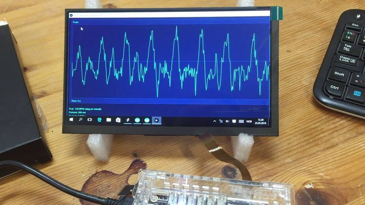 Pulse measuring project on a LattePanda Windows and Arduino
