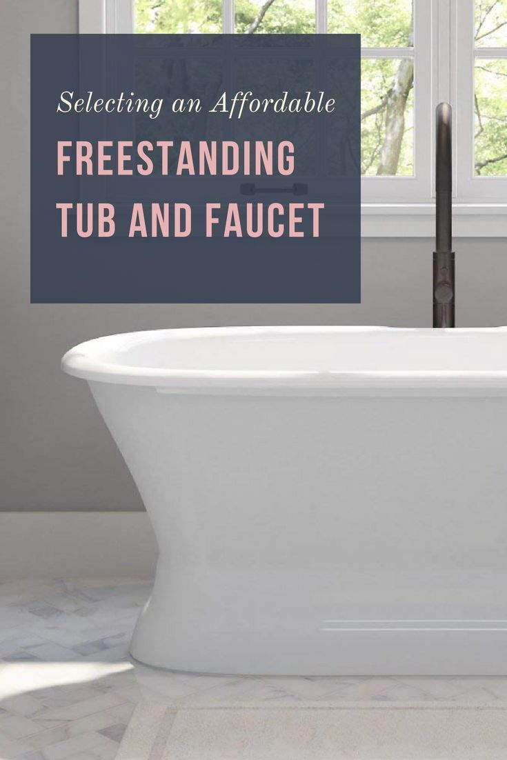 How to select a fantastic freestanding tub and faucet designer