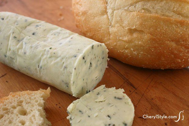 Easy blue cheese butter recipe for steak, veggies & baked potatoes - Everyday Dishes & DIY