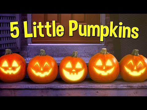 Five Little Pumpkins | Pumpkin Song | Super Simple Songs - YouTube
