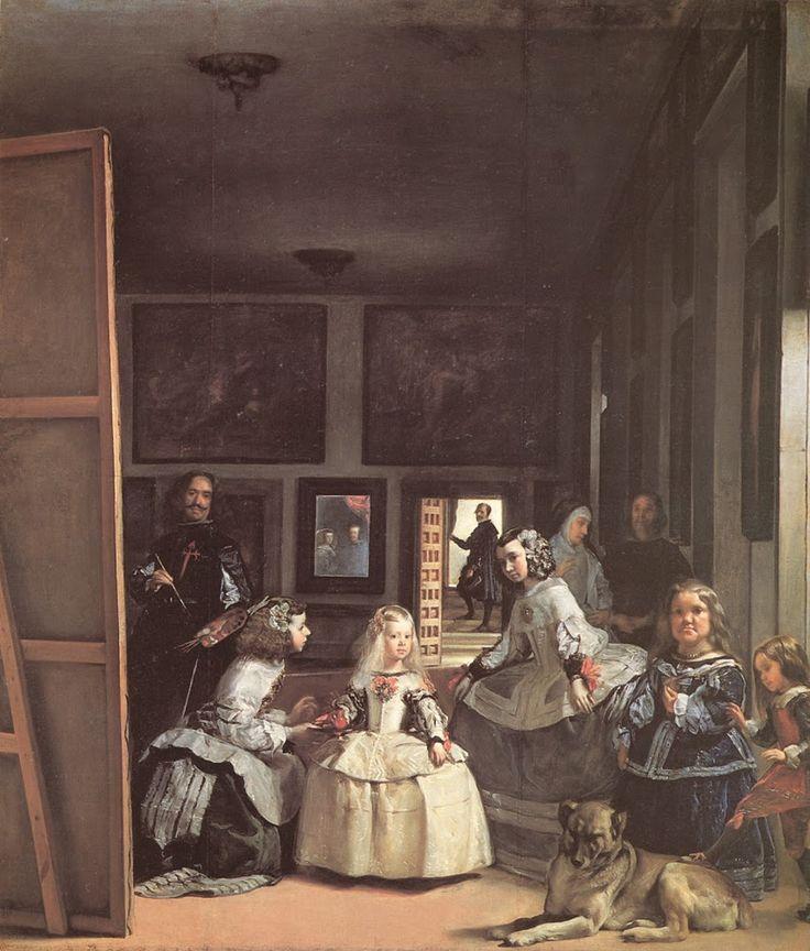 Οι δεσποινίδες των τιμών του Βελάσκεθ (1656)