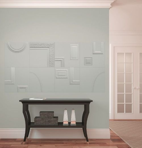 ORNAMENTA Frames porcelain tile