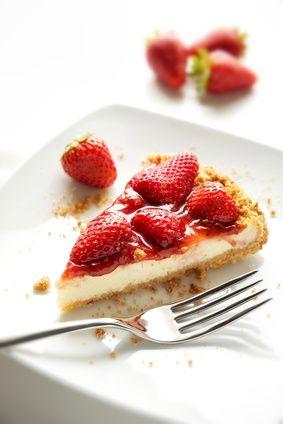 Cheesecake fragole cotta