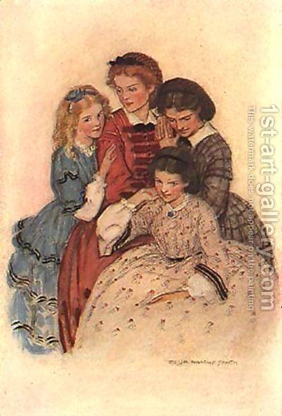 Jessie Wilcox-Smith: Meg, Jo, Beth & Amy