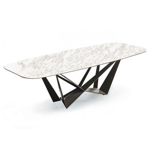 Skorpio Keramik Table, Oval