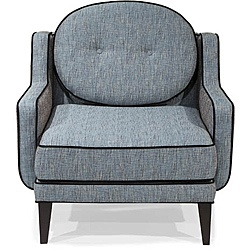 @Overstock.com - Create a unique feel in any room with this cool retro chair. This stylish chair features a unique retro design accented by contrast piping.http://www.overstock.com/Home-Garden/Retro-Blue-Lagoon-Fabric-Chair/5998329/product.html?CID=214117 $671.16