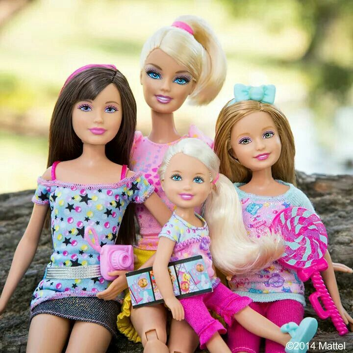 Skipper, Barbie, Chelsea and Stacie.  SC loves barbie and Chelsea (Life in the dreamhouse) & has a hand-me-down barbie that would be nice to replace.