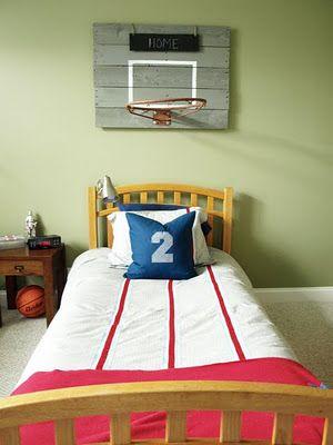 Nice Basketball Laundry Basket. Hang Diy Longer Net, With Drawstring On The  Bottom. I