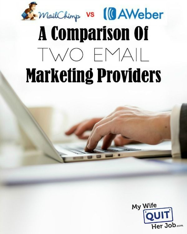 MailChimp Vs Aweber – A Comparison Of Two Email Marketing Providers  I recently switched my email marketing provider from Mailchimp over to Aweber and I thought that it would be interesting to compare the two services