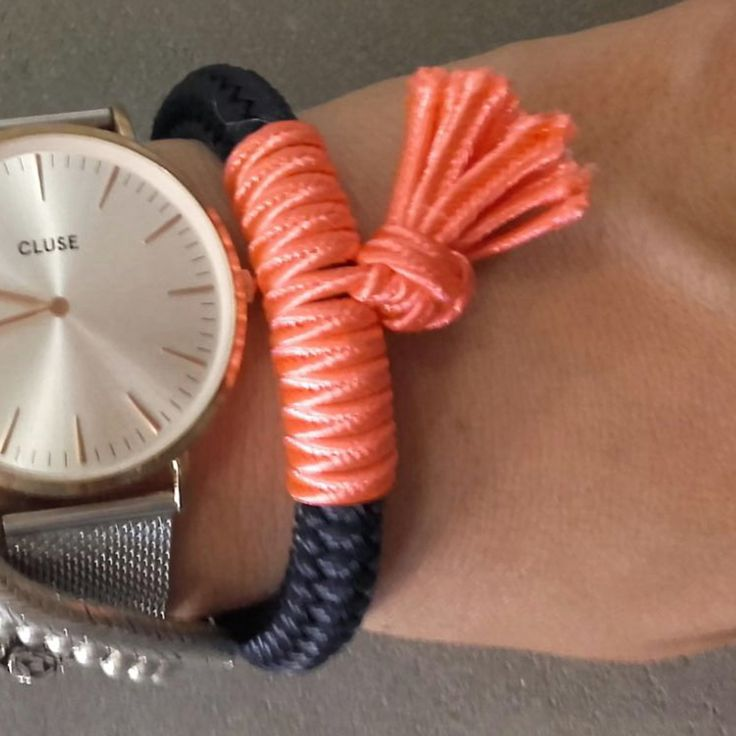 Perfect jewelry for everyday wear!   Length: adjustable - double wrap  A wonderful jewelry and a great gift!  #RopeBracelet #Summer #Bracelet #CordBracelet #Friendgift #Sistergift #Giftideas #accessory #fashion #glamour #accessory #trendy #fashionblogger