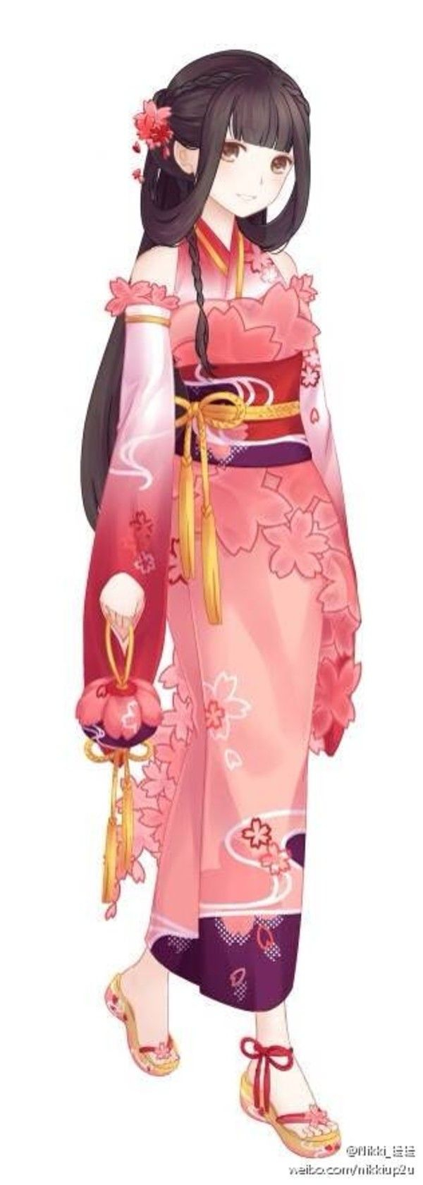 Anime Characters Kimono : Ideas about anime girl drawings on pinterest