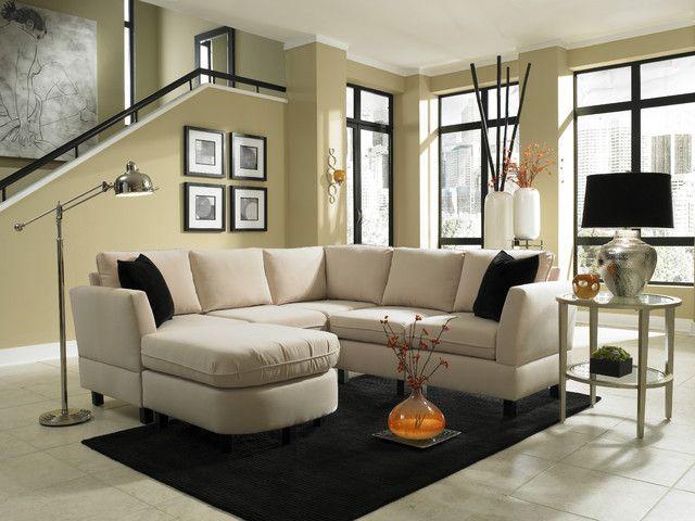 Die besten 25+ Small living room sectional Ideen auf Pinterest - wohnzimmer ideen fur kleine raume