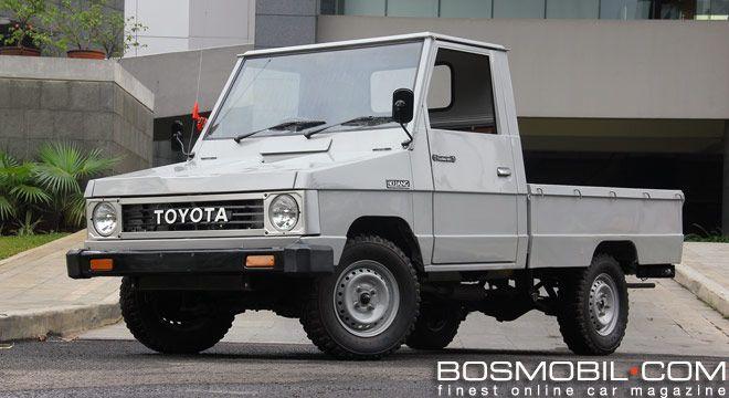 Toyota Kijang Pick Up 1984 : Si Doyok Yang Tiada Duanya #BosMobil
