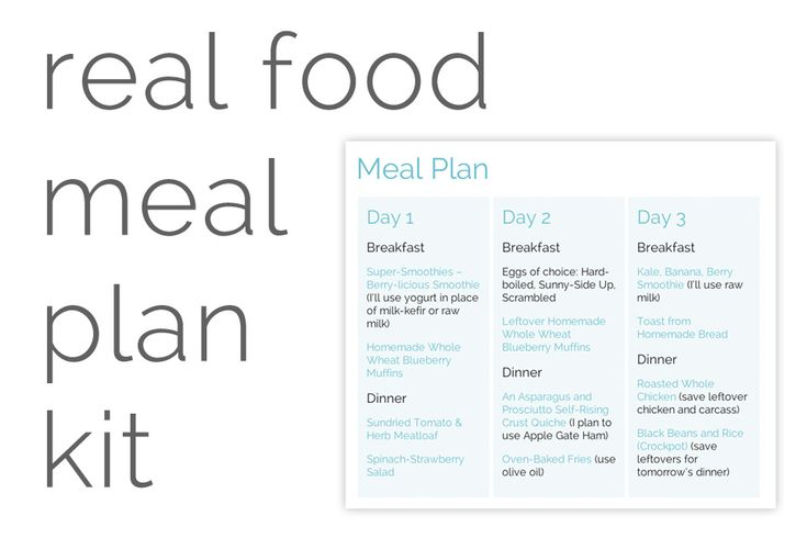 Real Food Meal Plan Kit: January 27-February 9 Free meal plan!! Plus Shopping list. All real food, budget-friendly meals.