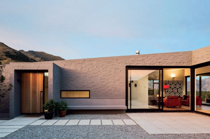 Lake Hawea Courtyard House, Wanaka, Glamuzina Paterson Architects