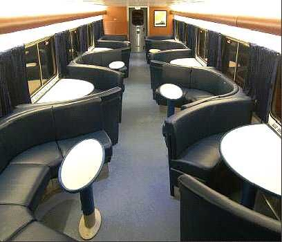 Amtrak Capitol Limited  Dining Car