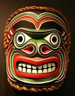 Native art ~ West coast native art gallery in Port McNeill on Northern Vancouver Island