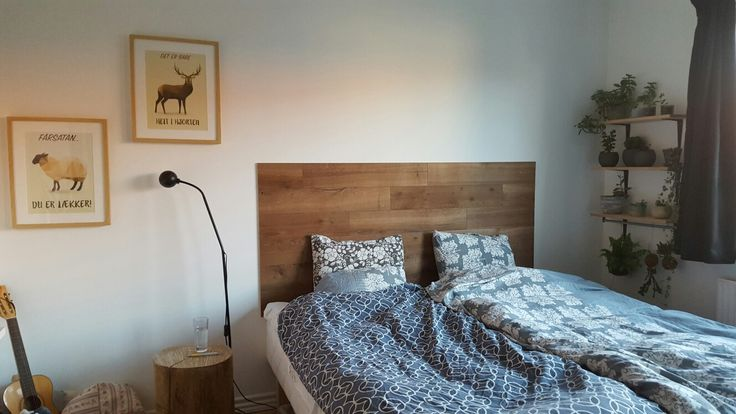 Headboard, sengegærde, DIY, Woodupp