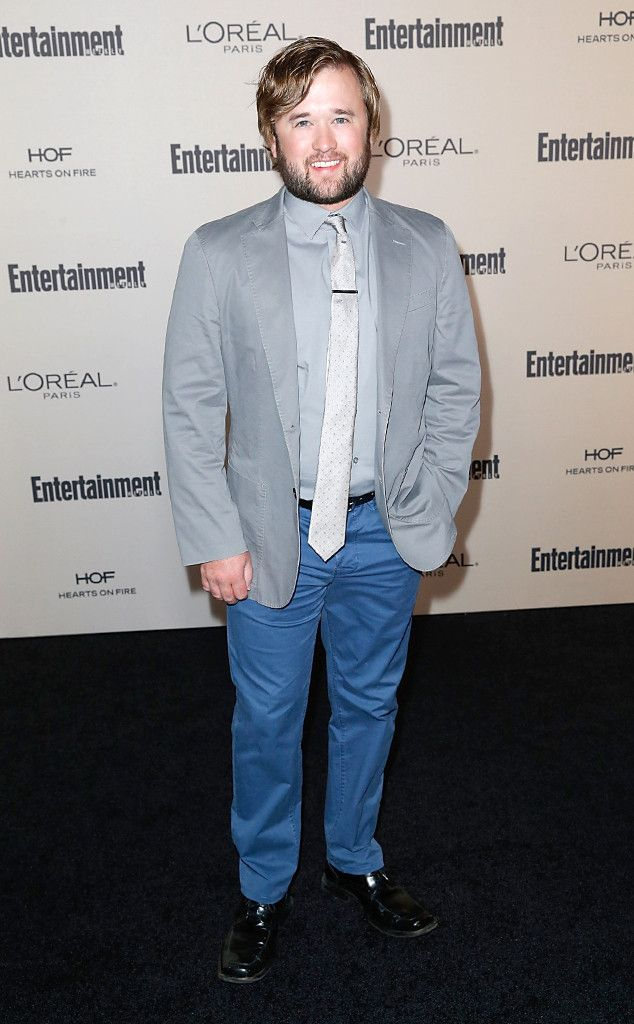 Haley Joel Osment from 2015 Emmys: Party Pics  The Sixth Sense actor poses for photographers at the 2015 Entertainment Weekly pre-Emmys party.