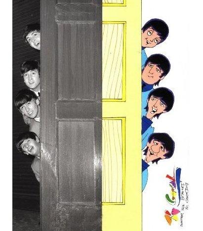 Beatles Cartoons. My favorite on Saturday am.