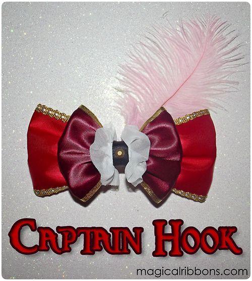 Magical Ribbons - Captain Hook Bow