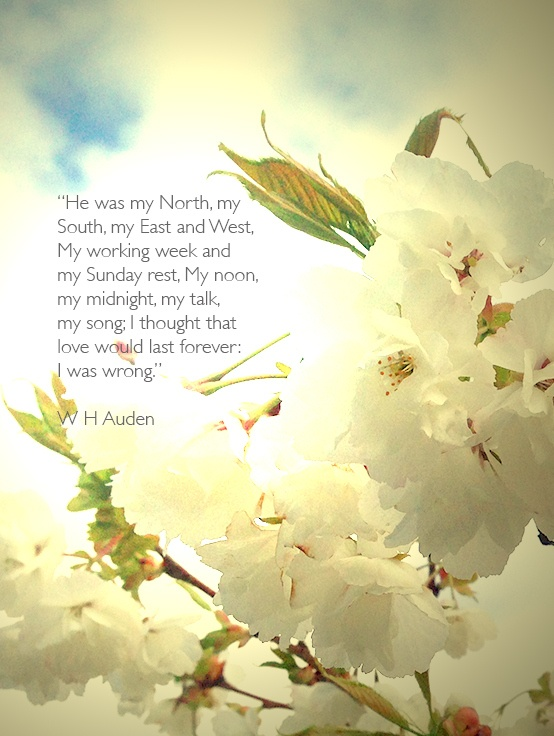 Funeral Poem From Four Weddings And A He Was My North South