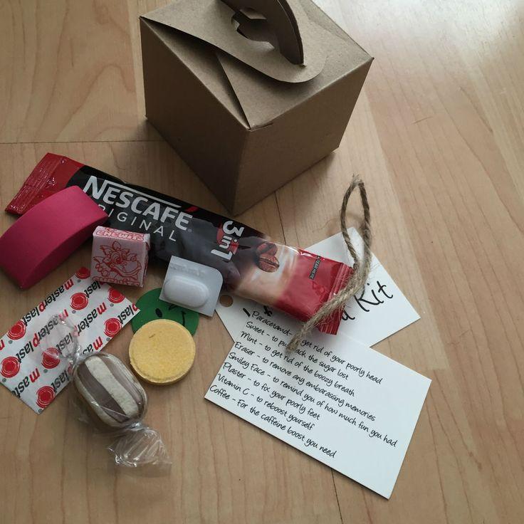 Yli Tuhat Ideaa Hangover Survival Kits Pinterestissa
