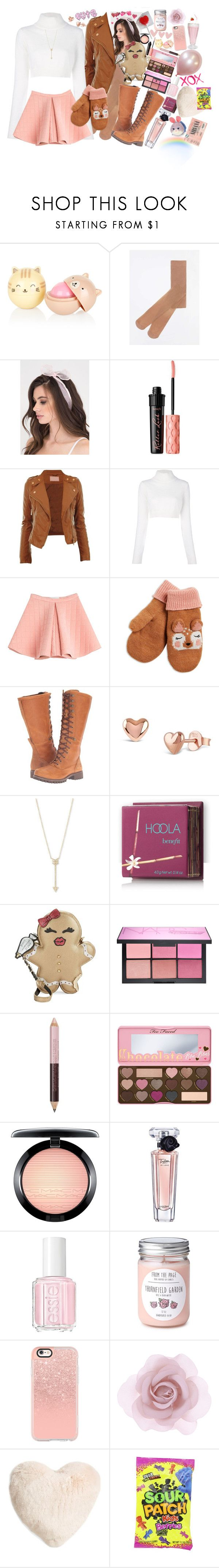 """""""Sweet Cold👑😻"""" by axelyamary ❤ liked on Polyvore featuring Dorothy Perkins, Benefit, Balmain, Marina Hoermanseder, Timberland, Dinny Hall, EF Collection, Hoola, Betsey Johnson and NARS Cosmetics"""