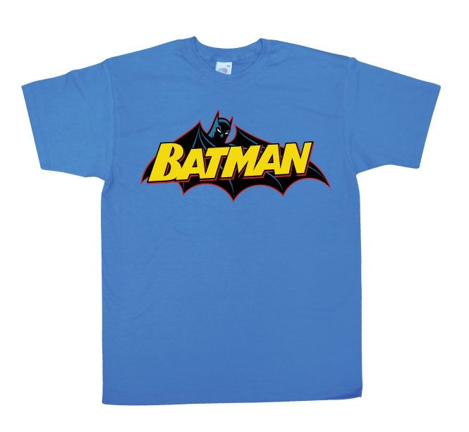 Batman Retro Logo Koszulka Męska