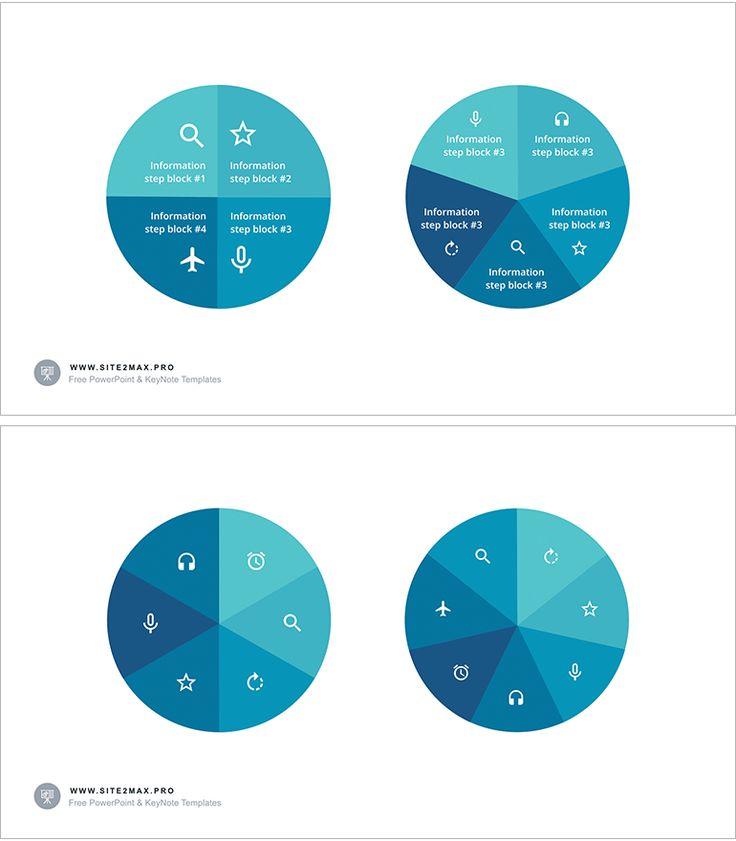 Download: http://site2max.pro/circle-segments-key-template/  Circle segments key template #circular #circle #key #keynote #segment #infographic