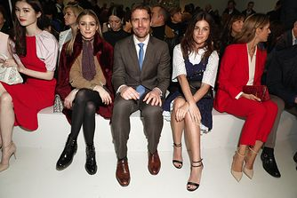 Olivia Palermo, James Ferragamo, Julia Restoin Roitfeld at Salvatore Ferragamo: Fall - Winter 2017 Women's Show