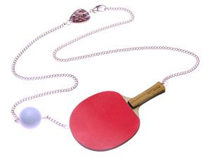 Ping Pong Necklace - Red £32 (sale £16) - SS09 Leisure Pursuits