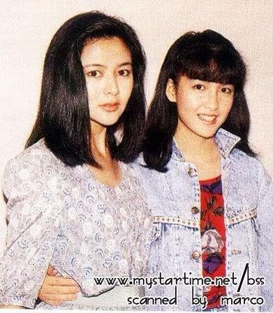 Rosamund Kwan & Vivian Chow