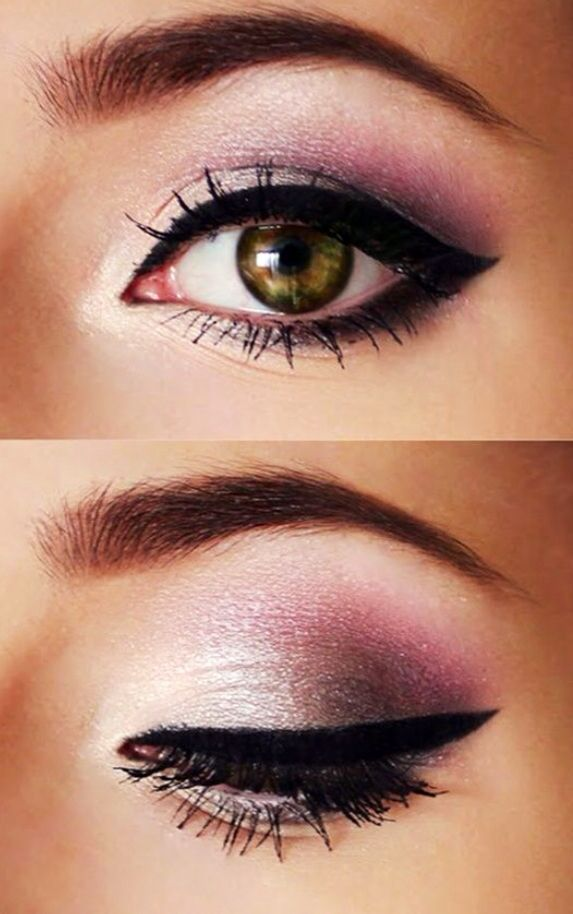 i love how easy and achievable these looks are i do them all the time ♥