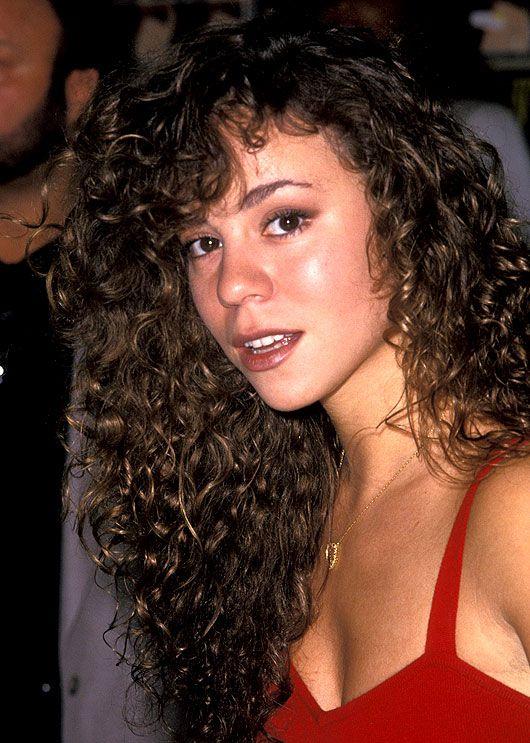 Mariah Carey Natural Hair Color