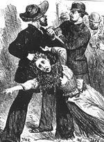 Jack the Ripper history, from the BBC: http://www.bbc.co.uk/history/historic_figures/ripper_jack_the.shtml IMAGE: An engraving depicting 'Jack The Ripper', 1889.