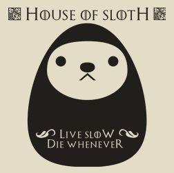 House of Sloth (męska koszulka t-shirt)