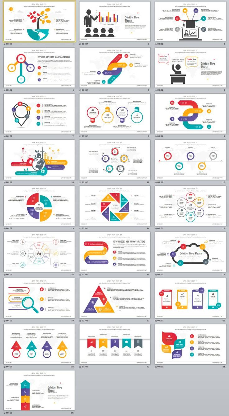 60 best 2018 best infographics powerpoint templates images on, Modern powerpoint