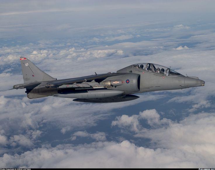 British Harrier T10