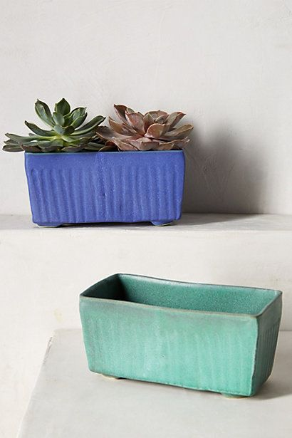 Fluted Planter - anthropologie.com #Anthropologie #PintoWin