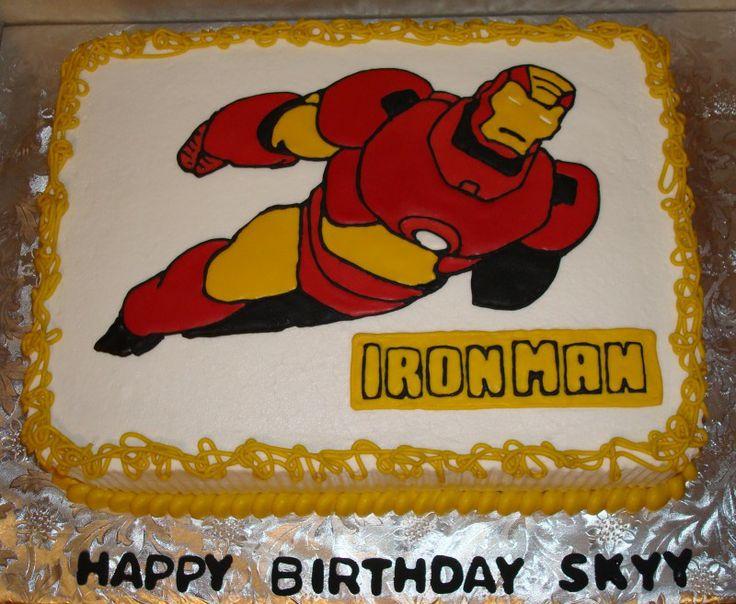 Image Detail For Iron Man Cakes By Mac Ironman Cake