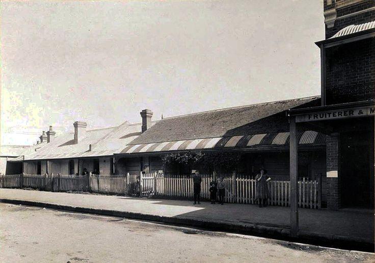 Walker St. Redfern. 1900