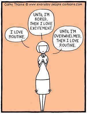 sad to say, this really describes me